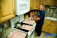 Jeremy loves bacon